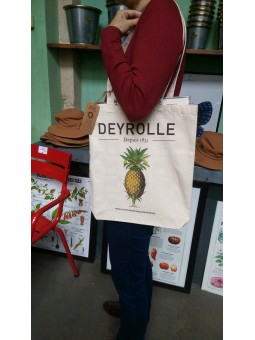 Tote bag cotton Pineapple