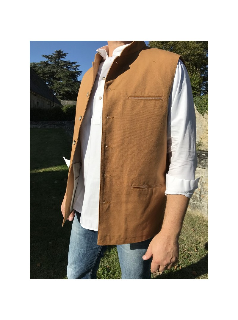 Gilet Cinnamon cotton